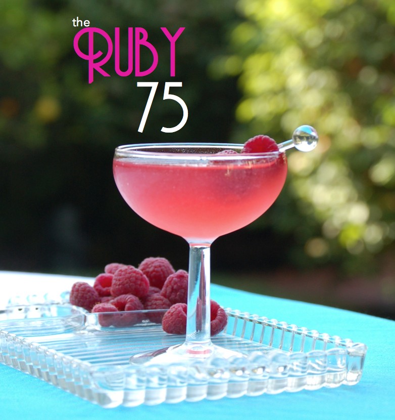 The perfect pre-dinner summer party cocktail!